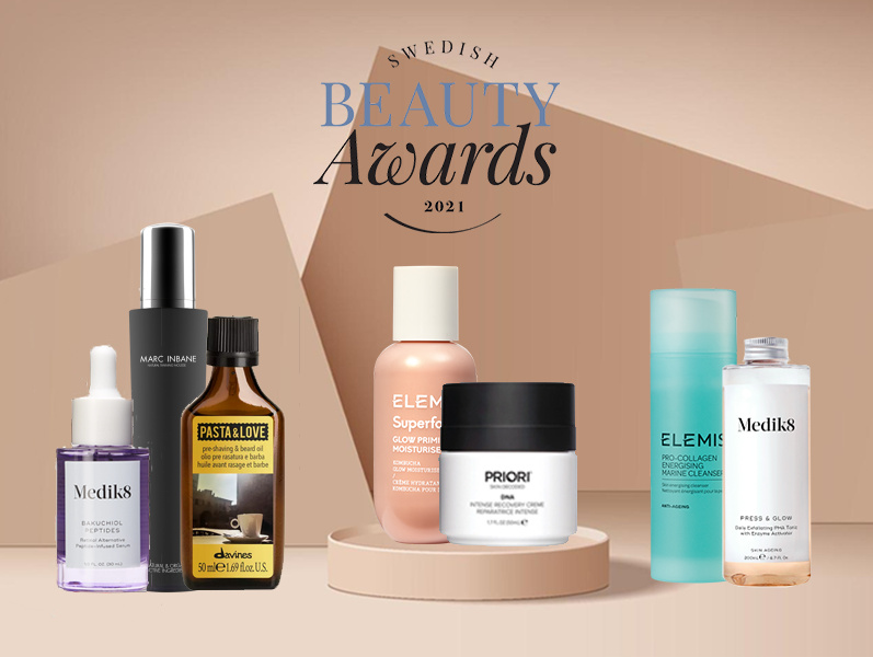 Vinnare i Swedish Beauty Awards 2021