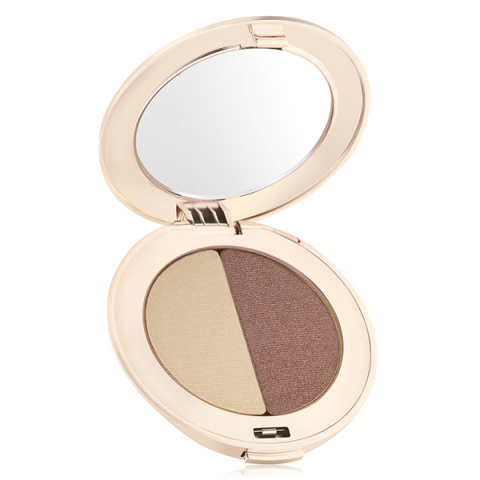 Jane Iredale PurePressed Eye Shadow Duo Oyster/Supernova i gruppen  hos Hudotekets Webshop (13505)