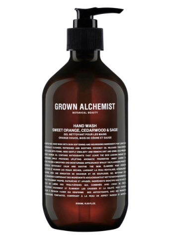 Grown Alchemist Hand Wash Sweet Orange, Cedarwood & Sage 500 ml i gruppen Kropp / Händer & fötter / Handtvål & handdesinfektion hos Hudotekets Webshop (16564000-7)