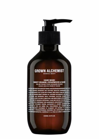 Grown Alchemist Hand Wash Sweet Orange, Cedarwood & Sage 300 ml