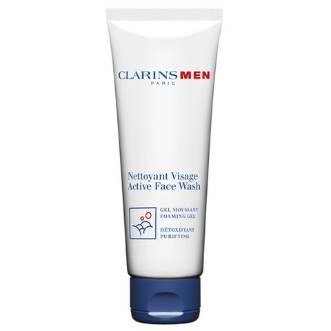 Clarins Men Active Face Wash i gruppen Man / Rengöring hos Hudotekets Webshop (19900000-0)