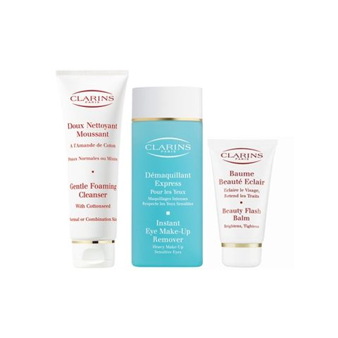Clarins Beauty Flash Balm Kit  i gruppen Ansikte / Kit & Paket hos Hudotekets Webshop (20210 000-1 )