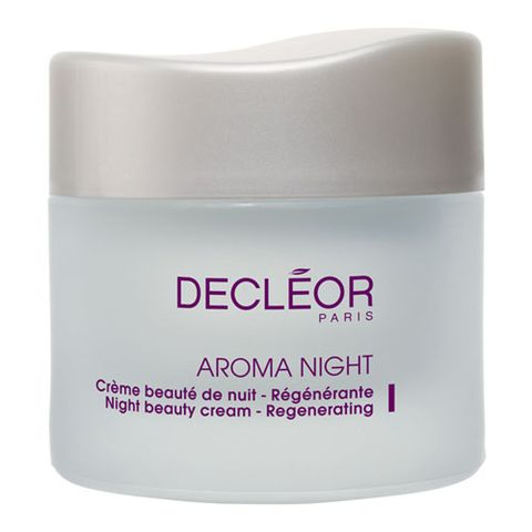 Decl�or Aroma Night Beauty Cream Regenerating i gruppen Ansikte / Nattcreme hos Hudotekets Webshop (367000)