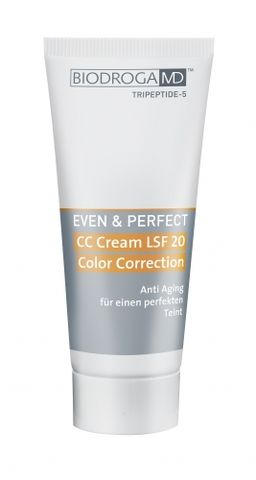 Biodroga MD Even & Perfect CC Cream SPF 20 Color Correction Anti-Redness i gruppen Ansikte / Ansiktscreme / Dagcreme / Färgad dagcreme hos Hudotekets Webshop (43504)