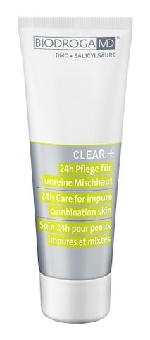 Biodroga MD Clear + 24h Care for Impure Combination Skin i gruppen Ansikte / Ansiktskräm / 24-h kräm hos Hudotekets Webshop (43622)