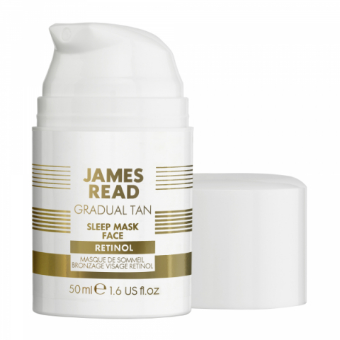 James Read Sleep Mask Face Retinol i gruppen Brun Utan Sol hos Hudotekets Webshop (5000444072644)