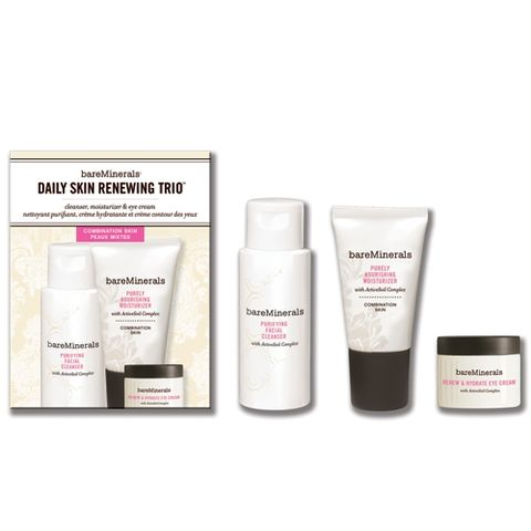 bareMinerals Skincare Try Me Kit Combination Skin i gruppen Ansikte / �gon / Normal & Torr hud hos Hudotekets Webshop (59126)