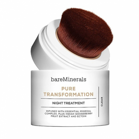 bareMinerals Pure Transformation Night Treatment i gruppen Ansikte / Specialvård & Kurer / Fet & Blandad hud hos Hudotekets Webshop (81338)