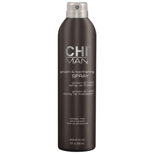 CHI MAN Groom & Hold Finishing Spray i gruppen H�r / Styling / Spray hos Hudotekets Webshop (CHI5642)