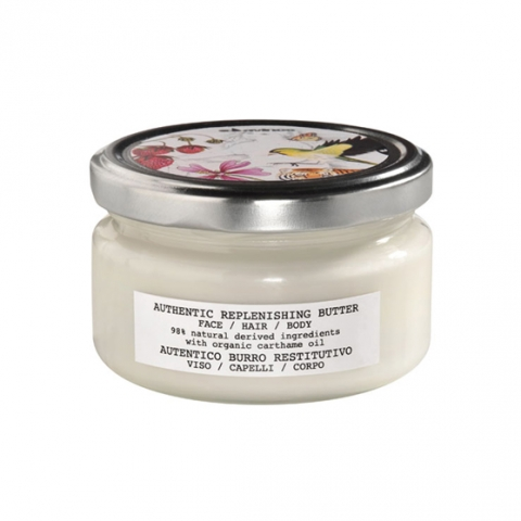 Davines Authentic Replenishing Butter Face / Hair / Body i gruppen Ansikte / 24-h Creme hos Hudotekets Webshop (D54003)
