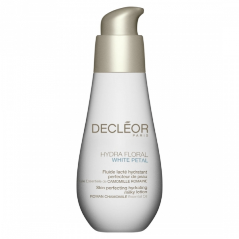 Decléor Hydra Floral White Petal Perfecting Hydrating Milky Lotion i gruppen Ansikte / 24-h Creme / Pigmenterad hud hos Hudotekets Webshop (E2401390)
