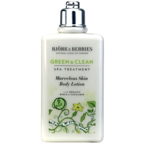 Bj�rk&Berries Green & Clean Marvelous Skin Body Lotion 250 ml i gruppen Kropp / Creme & Lotion hos Hudotekets Webshop (HO207)