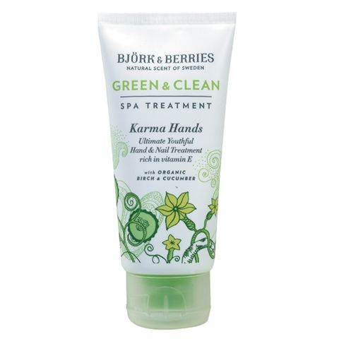 Bj�rk&Berries Green & Clean Karma Hands Ultimate Youthful Hand & Nail Treatment i gruppen Kropp / H�nder & f�tter / Cremer hos Hudotekets Webshop (HO280)