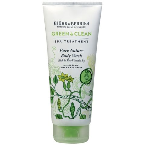Bj�rk&Berries Green & Clean Pure Nature Body Wash i gruppen Kropp / Dusch & Bad hos Hudotekets Webshop (HO510)