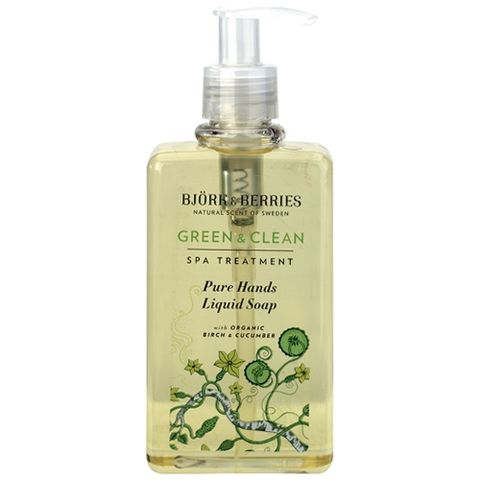 Bj�rk&Berries Green & Clean Pure Hands Liquid Soap i gruppen Kropp / Dusch & Bad hos Hudotekets Webshop (HO673)