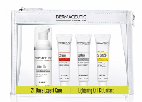 Dermaceutic 21 Days Expert Care Kit Advanced Lightening Kit i gruppen Eko & vegan / Vegansk hudvård hos Hudotekets Webshop (Light-D21_kit)