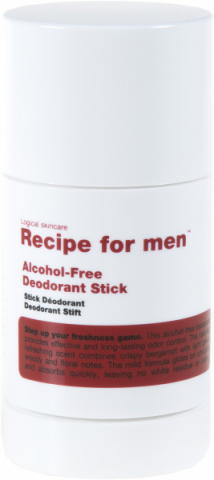 Recipe for men Deodorant Stick  i gruppen Man / Doft & Deo hos Hudotekets Webshop (R042)