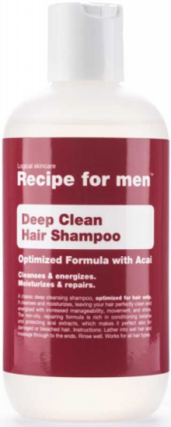 Recipe for men Deep Cleansing shampoo