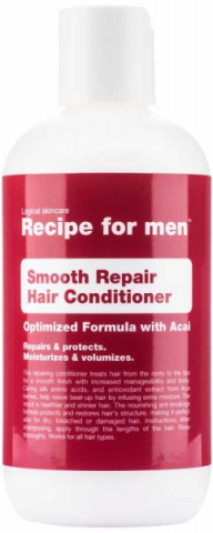Recipe for men Smooth Repair Hair Conditioner i gruppen Hår / Balsam & Inpackning / Balsam hos Hudotekets Webshop (R068)
