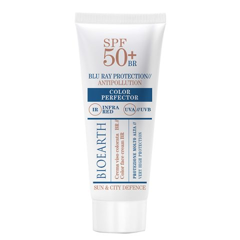 Bioearth Sun & City Defense Color Perfection SPF 50+ i gruppen Sol / Solkräm hos Hudotekets Webshop (b1085)