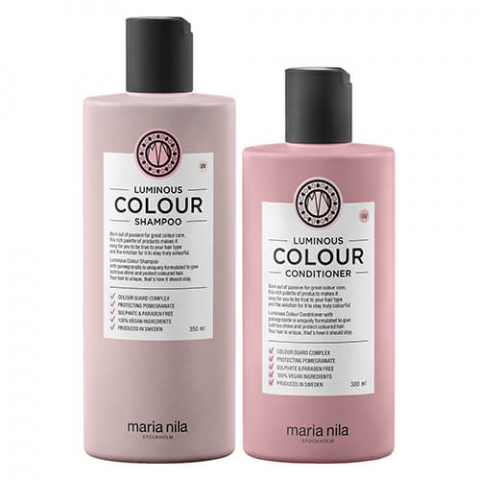 Maria Luminous Colour Soft Duo i gruppen Hår / Kit & Paket hos Hudotekets Webshop (bundlinglouminouscolour)
