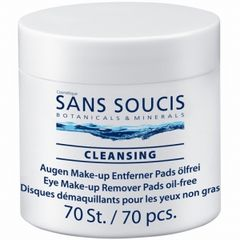 Sans Soucis Cleansing Eye Make-Up Remover Pads Oil-Free
