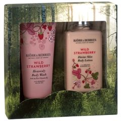 Bj�rk&Berries Wild Strawberry Body Kit