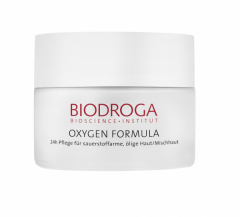 Biodroga Oxygen Formula Day & Night Care Oily/Combination Skin