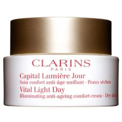 Clarins Vital Light Day Illuminating Anti-Ageing Comfort Cream Dry Skin