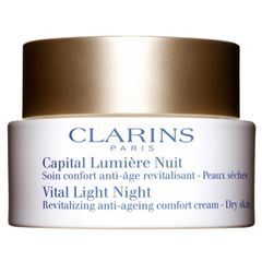 Clarins Vital Light Night Revitalizing Anti-Ageing Comfort Cream Dry Skin