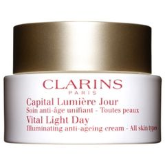 Clarins Vital Light Day Illuminating Anti-Ageing Cream All Skin Types