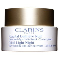 Clarins Vital Light Night Revitalizing Anti-Ageing Cream All Skin Types