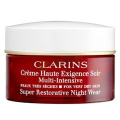 Clarins Super Restorative Night Wear Very Dry Skin
