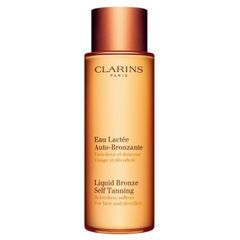 Clarins Sun Liquid Bronze Self Tanning Lotion For Face