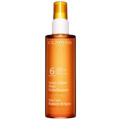 Clarins Sun Care Radiant Oil Spray Body & Hair SPF 6