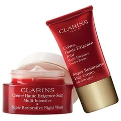 Clarins Super Restorative Night Duo All Skin Types