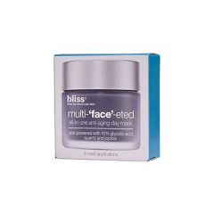 bliss Multi-Face-Eted All-In-One Anti-Aging Clay Mask Beauty To Go