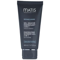 Matis R�ponse Homme Energizing Shower Gel 2 in 1 Hair & Body