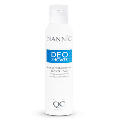 Nannic QC DeoShower Cleansing Foam and Deodorant
