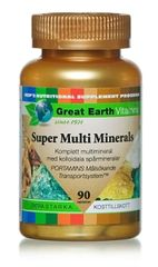 Great Earth Vitamins Super Multi Minerals