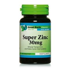 Great Earth Vitamins Super Zinc 25 mg