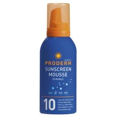 Proderm Sunscreen Mousse SPF 10