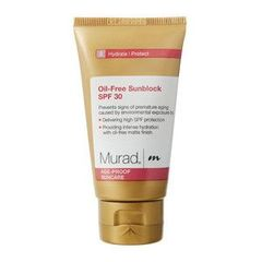 Murad Age Proof Sun-Care Oil-Free Sunblock SPF 30