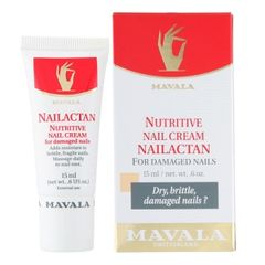 Mavala Nailactan Nutritive Nail Cream for Damaged Nails
