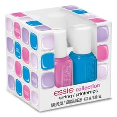 Essie Professional Nail Color Spring Collection Mini Cube