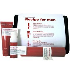 Recipe for men Cleanse Moisturize Treat Startkit