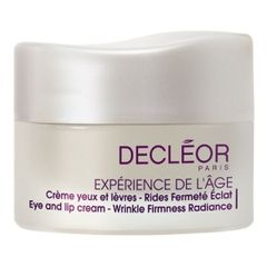 Decl�or Exp�rience de l��ge Eye and Lip Cream