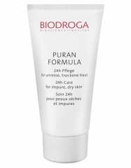 Biodroga Puran Formula 24h Care for Impure Oily/Combination Skin