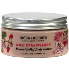 Bj�rk&Berries Wild Strawberry Beyond Belief Body Butter