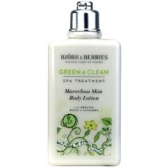 Bj�rk&Berries Green & Clean Marvelous Skin Body Lotion